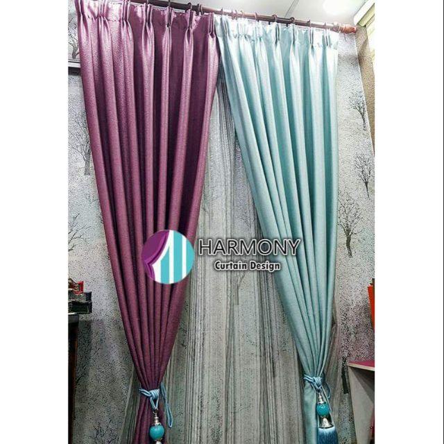 Curtain Sliding Door Window Langsir Cantik Modern Ikea Abstract Sho Malaysia