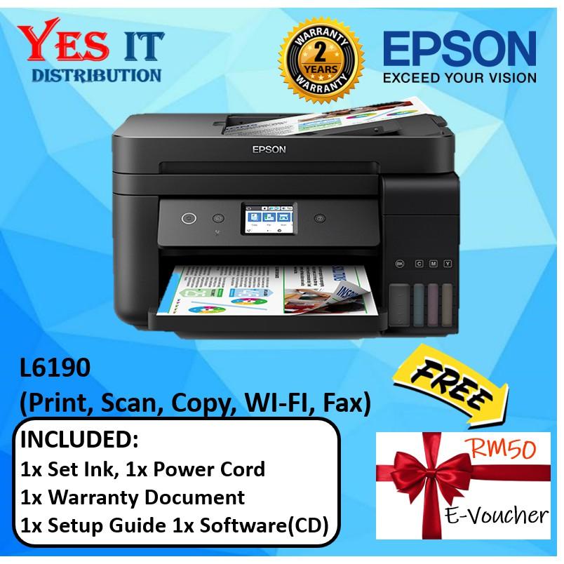 Epson L6190 Printer Driver
