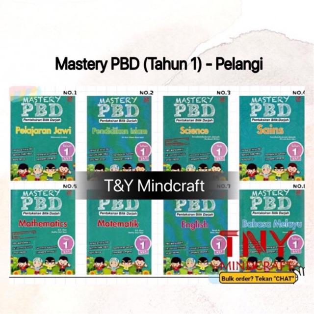[TNY] MASTERY PBD TAHUN 1 (2020)