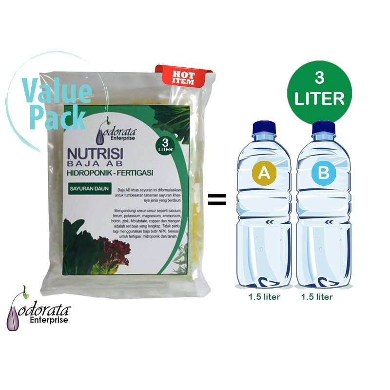 Set Baja Ab 3 Liter Khas Sayuran Berdaun