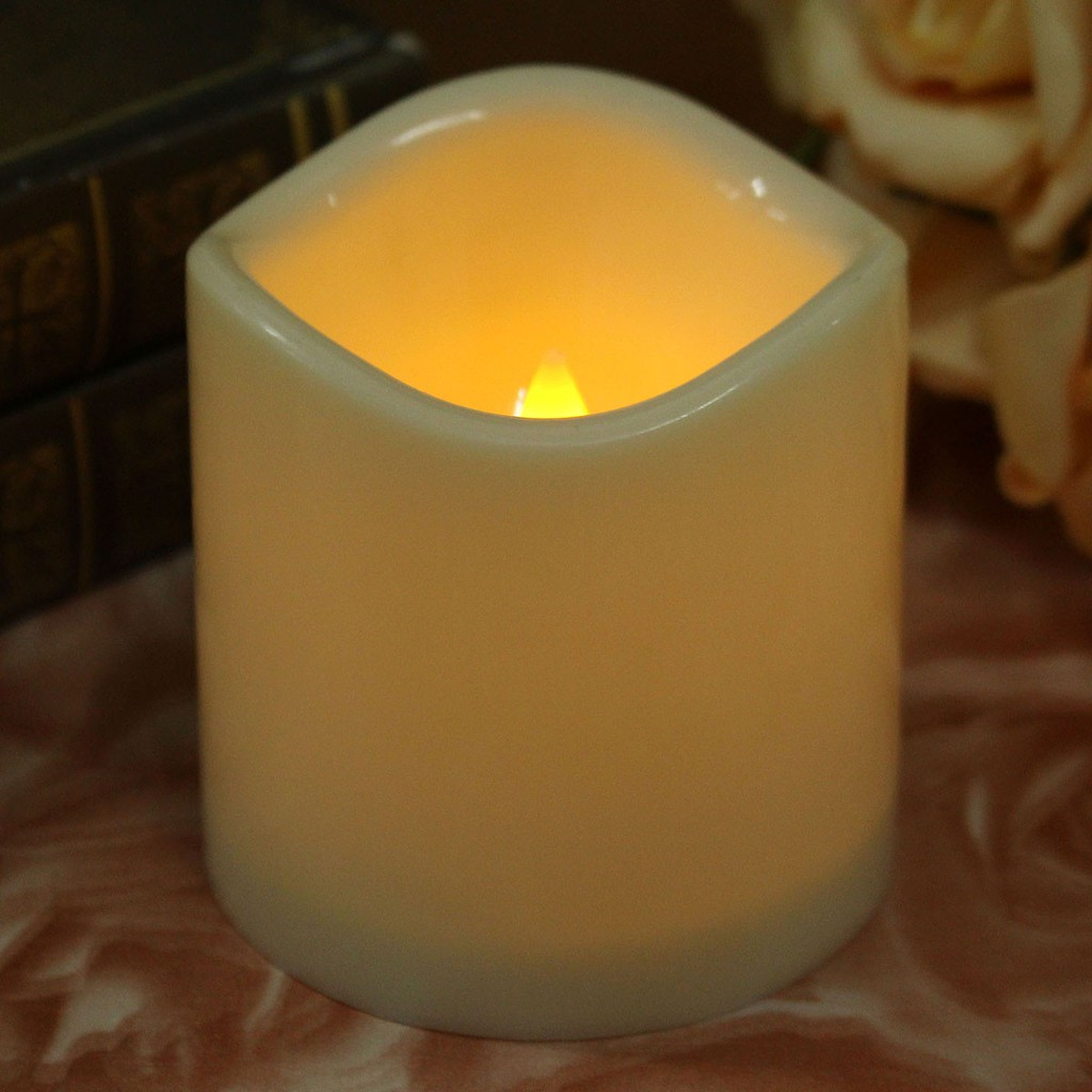 Led Flameless Flickering Tealight Candles Battery Operated Shopee Candle Flamewax Candleled Electronic Circuit Malaysia