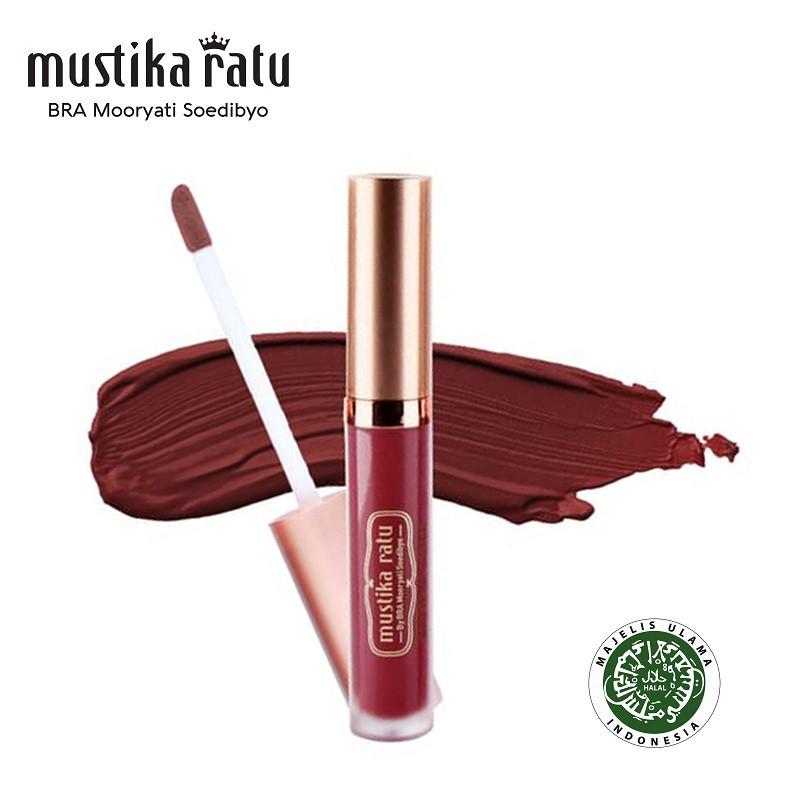Mustika Ratu Lip Cream Matte Radiant Rose MR 4.7gr