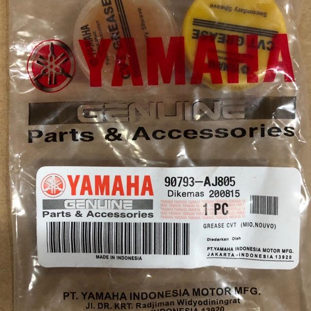Yamaha Scooter CVT Pulley Grease Yamaha Original Parts NVX Nmax XMAX Ego  EgoLc Nouvo NouvoLC Avantiz Solariz