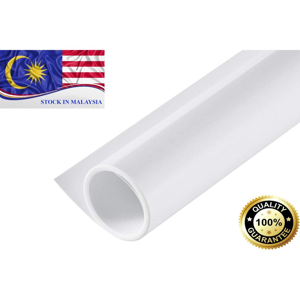 PVC Photo Photography Lighting Backdrop Washable White 60 x 130cm (Ready Stock In Malaysia)