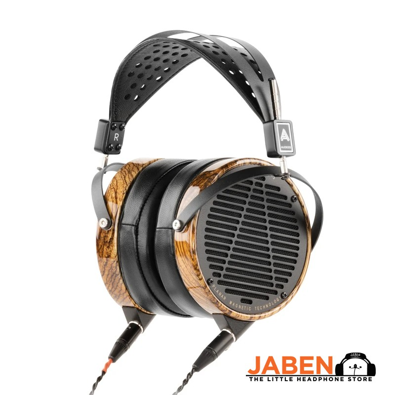 Audeze LCD-3 Planar Magnetic Hi-Res Rugged Travel Case Detachable Cable Made in USA Open Back Over-Ear Headphones[Jaben]