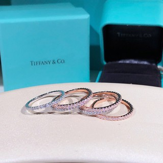 f18d5a9972ce2 Discount tiffany diamond band s925 sterling silver diamond wedding ring