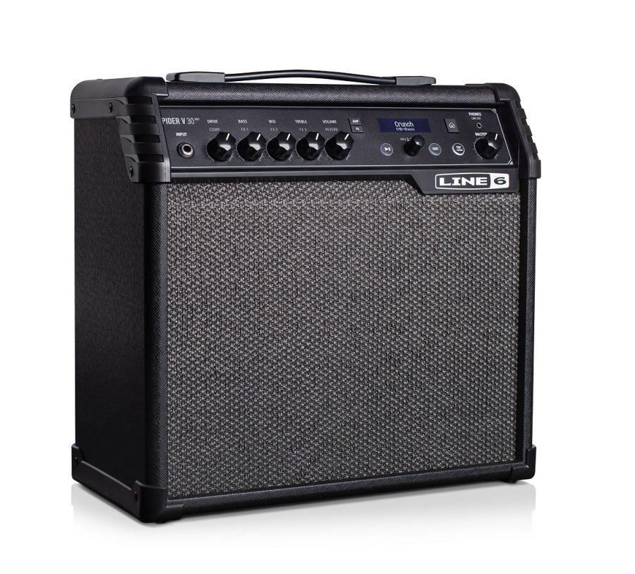 """LINE 6 SPIDER V-30 Modelling Guitar Combo Amplifier 30 Watts, 8"""" Speaker + Tweeter (V30"""
