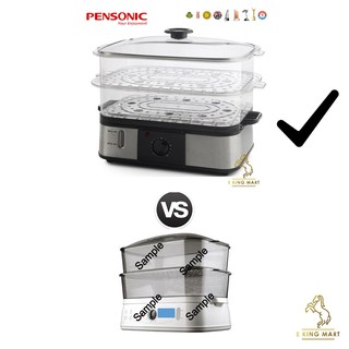 Pensonic Big 12l Food Steamer Psm 162s Stainless Steel