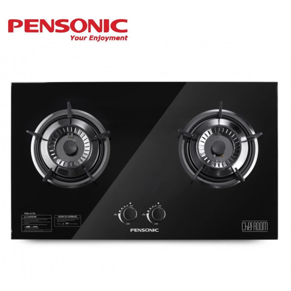 Pensonic 2 Burner Tempered Glass PGH-617G