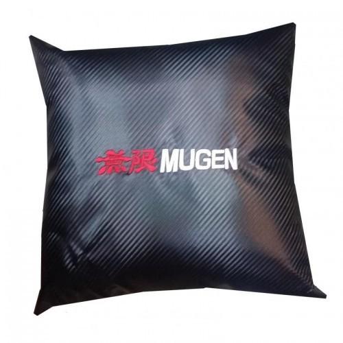 Mugen Power Carbon Micro-fibre Car Pillow