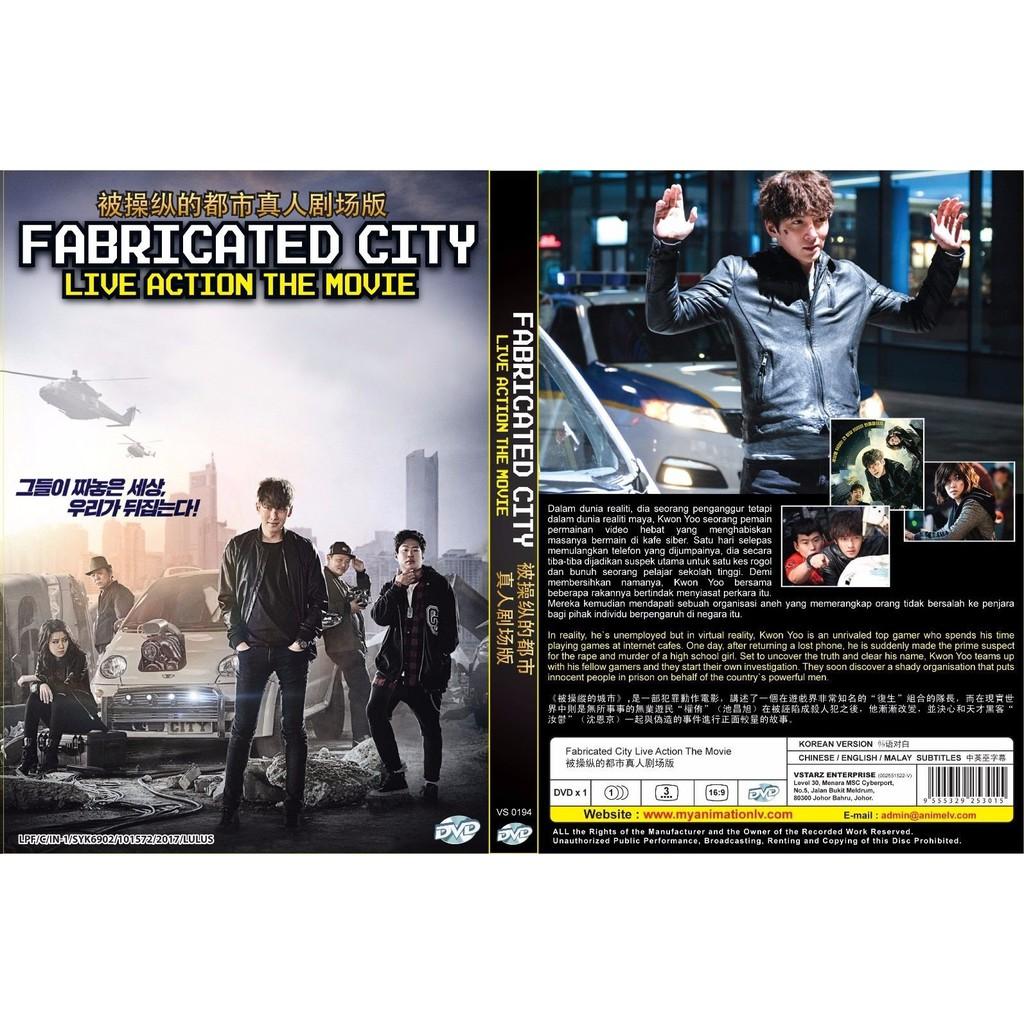 KOREAN MOVIE ~ Fabricated City (2017)