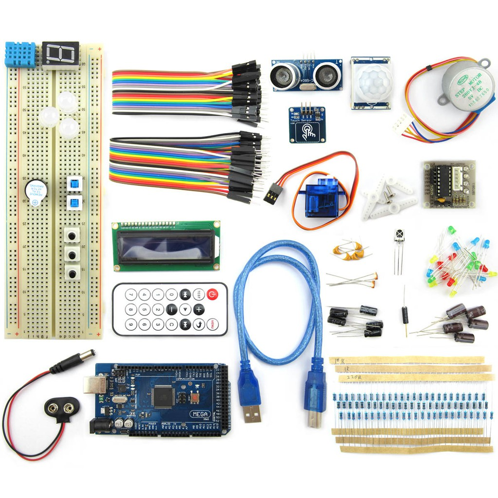 Mega2560 Breadboard Advance Kit For Arduino Shopee Malaysia 433mhz Receiver From Sparkfun Is The Green Rectangular Printed Circuit