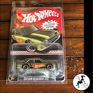 [Limited Edition] Authentic Hot Wheels Hotwheels Datsun Bluebird 510 2017 Collectors Edition