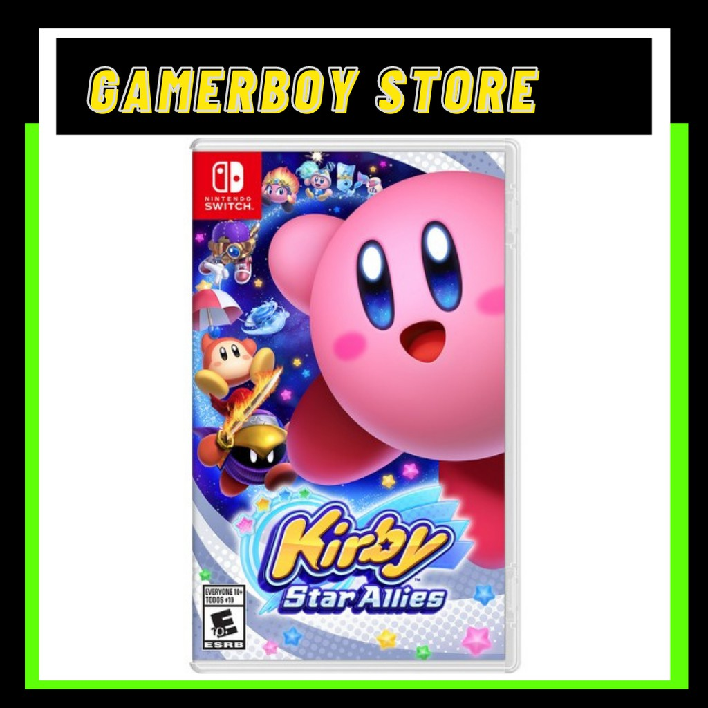 NINTENDO SWITCH KIRBY STAR ALLIES (PHYSICAL)