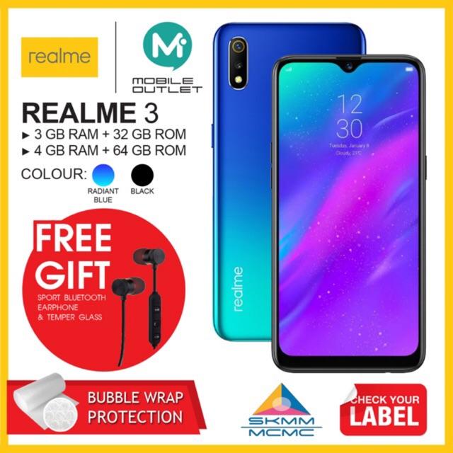 Realme 3 32GB | 64GB (Original Msia Set)