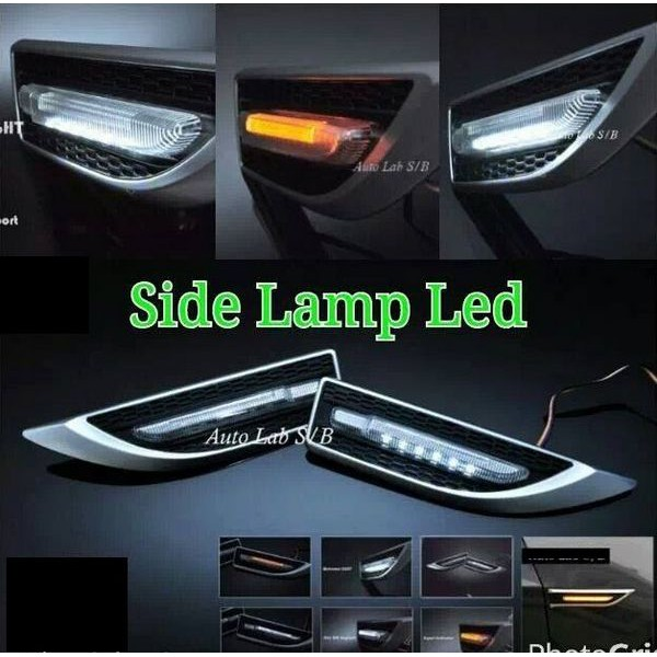 [FREE Gift] YCL 3 IN 1 UNIVERSAL SIDE FENDER LED DRL+SIGNAL+ WELCOME LIGHT