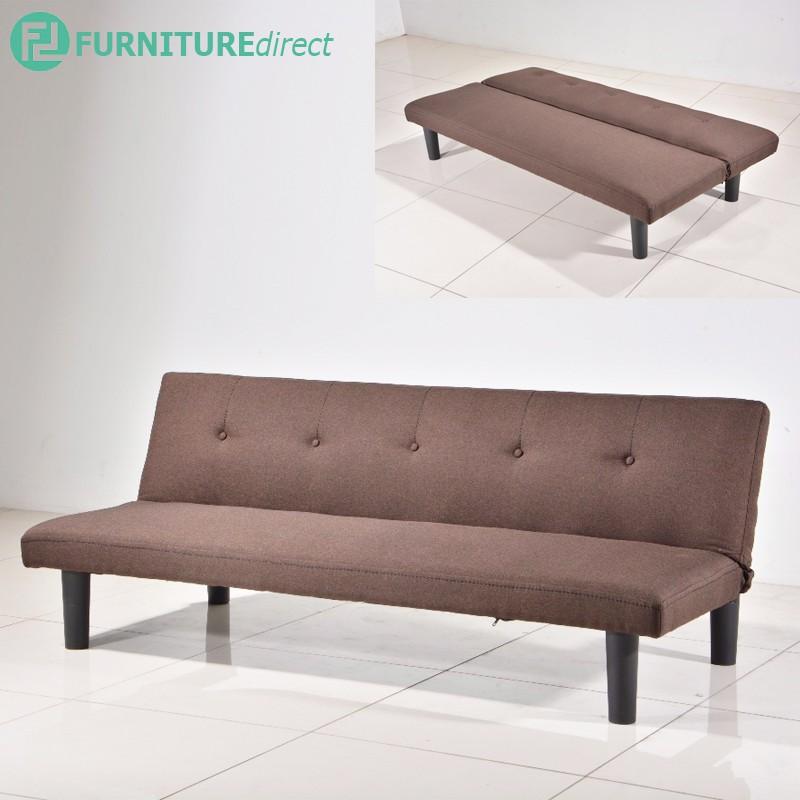Furniture Direct LATINA 3 seater fabric sofa bed