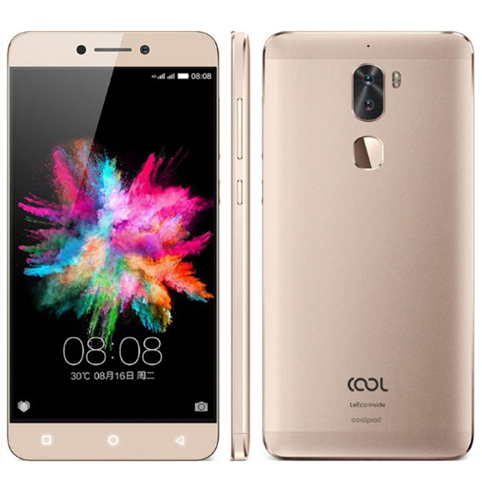 Letv Cool1 Dual Pro Leeco Coolpad Cool 1 Snapdragon 652 4G 32G Mobile Phone