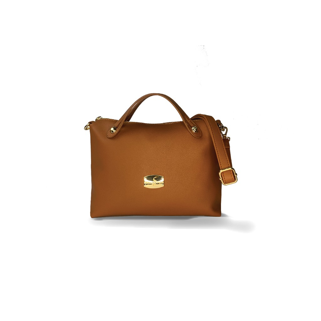 ROYAL POLO Layla Handbag 3in1 Set (Free Sling Bag And Make Up Pouch)
