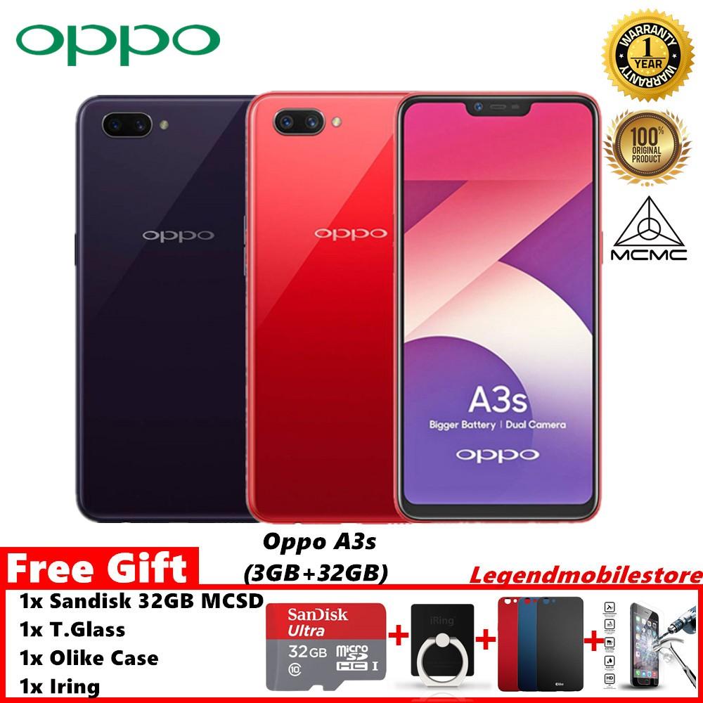 Oppo A3s Smartphone Shopee Malaysia