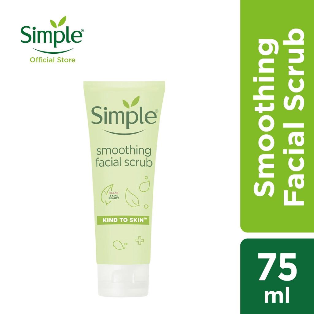 Simple Smoothing Cleansing Scrub (75ml)