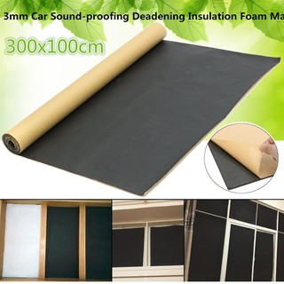 3m Roll Car Sound Proofing Deadening Motorhome | Shopee Malaysia