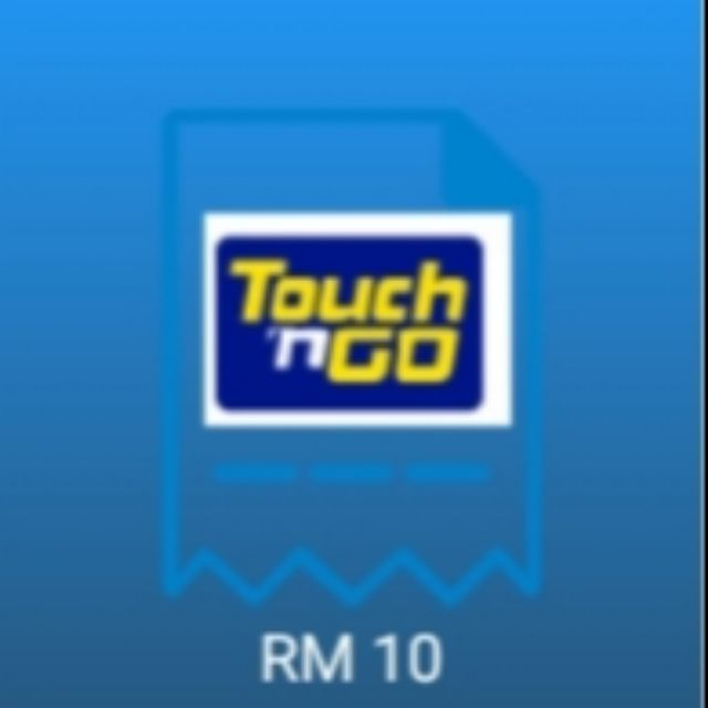 Top up @ reload ewallet touch n go rm10 ( fara87 )