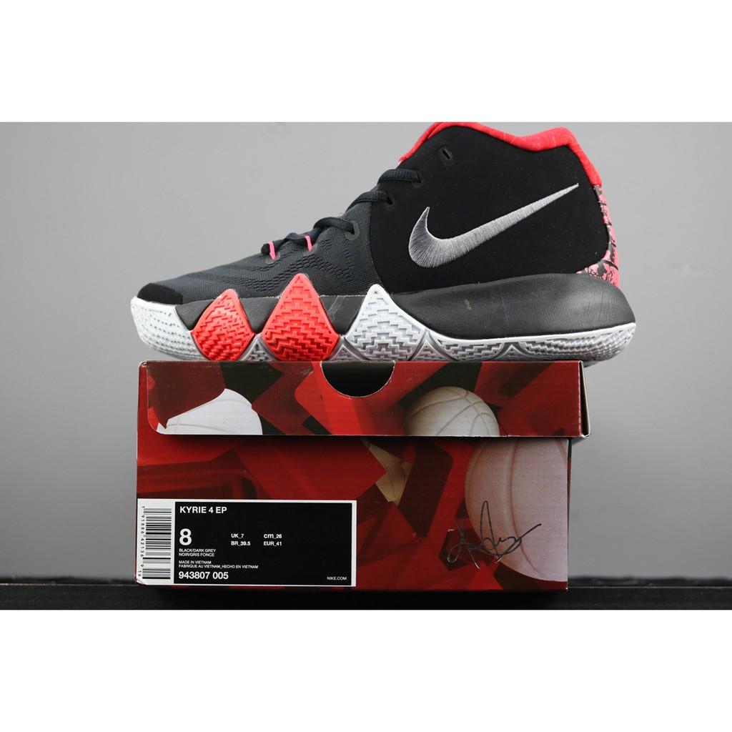 quality design 783f6 158d3 Nike Kyrie 4 Black/Dark Grey   Shopee Malaysia