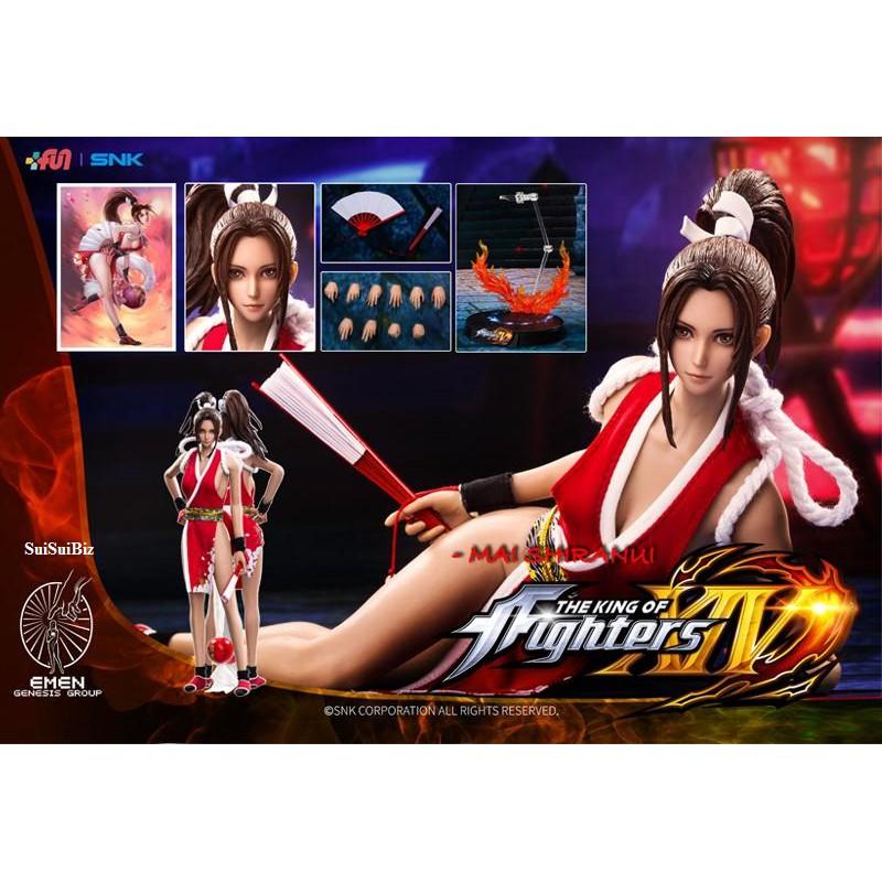 1 6 Scale Toys Genesis King Of Fighters Mai Shiranui Shopee Malaysia