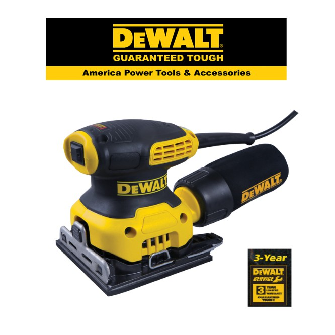 DEWALT DWE6411-B1/ 1-4 SHEET ORBITAL SANDER