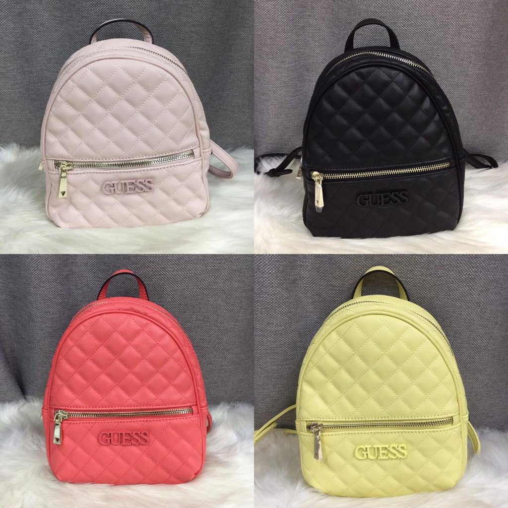 383665797c985 Guess Women's Lingge Candy Colors Backpack with Dust Bag