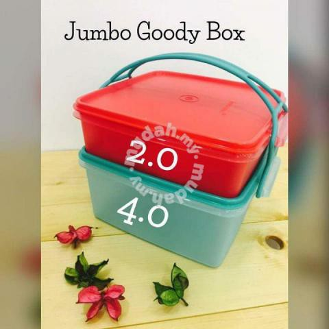 Tupperware Jumbo Goody Box with Cariolier (1)
