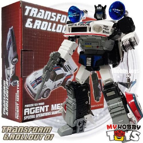 Transform & Rollout Transformers - TR-01 HOVA ( aka G1 Jazz, Masterpiece  Scale )