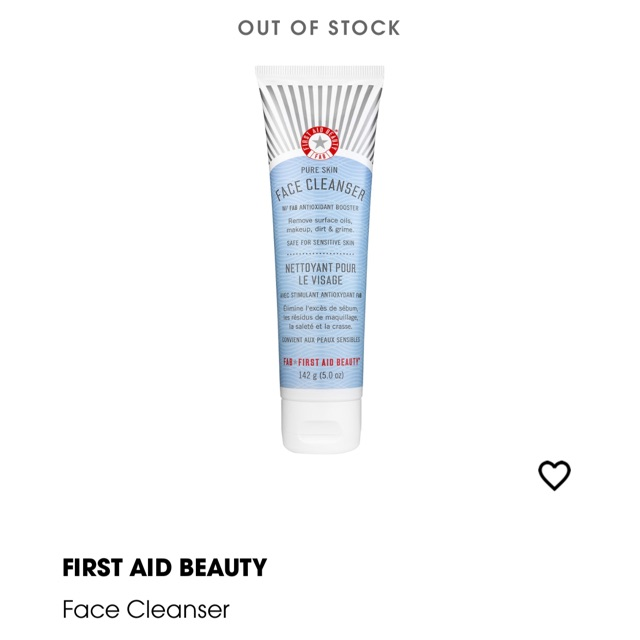 100 Authentic First Aid Beauty Facial Cleanser