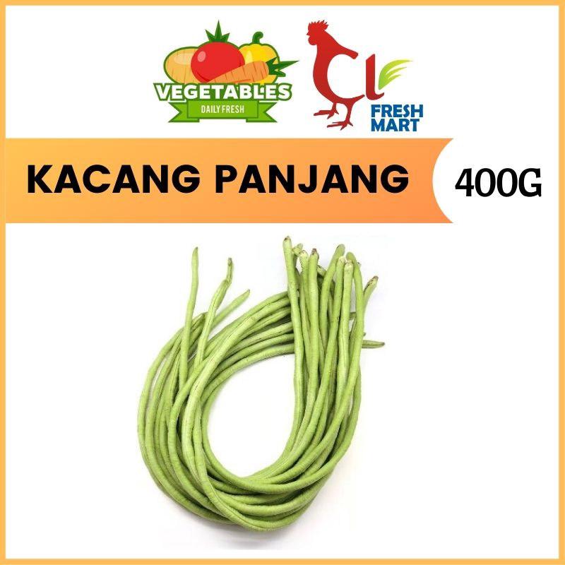 Benih Kacang Panjang / Long Bean (400g) Fresh Selected