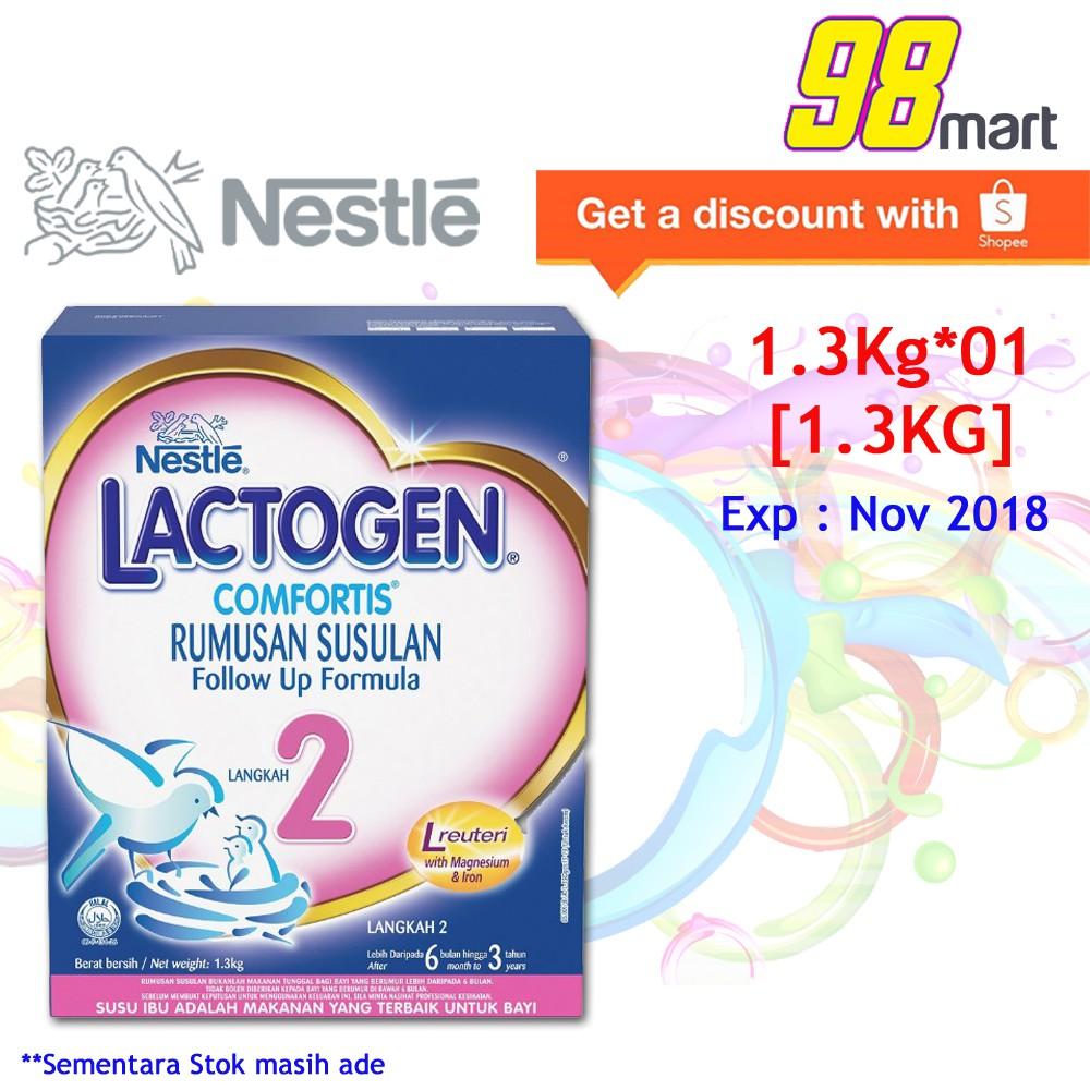 LACTOGEN 2 Comfortis Infant Milk Formula 1 3kg