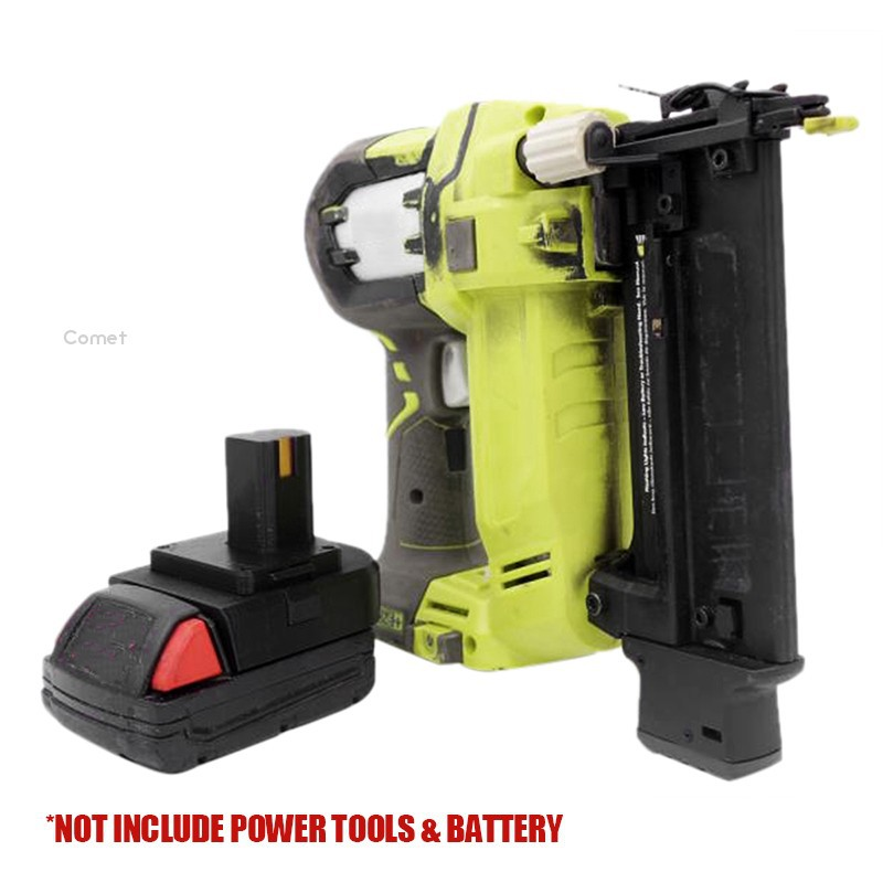 1x Milwaukee M18 Li-ion Battery to Ryobi 18V Cordless Tools Adapter w//USB Charge