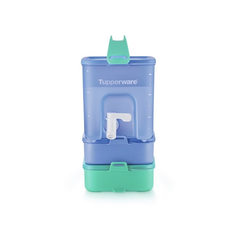 Tupperware Click to go beverage dispenser + click to go rect