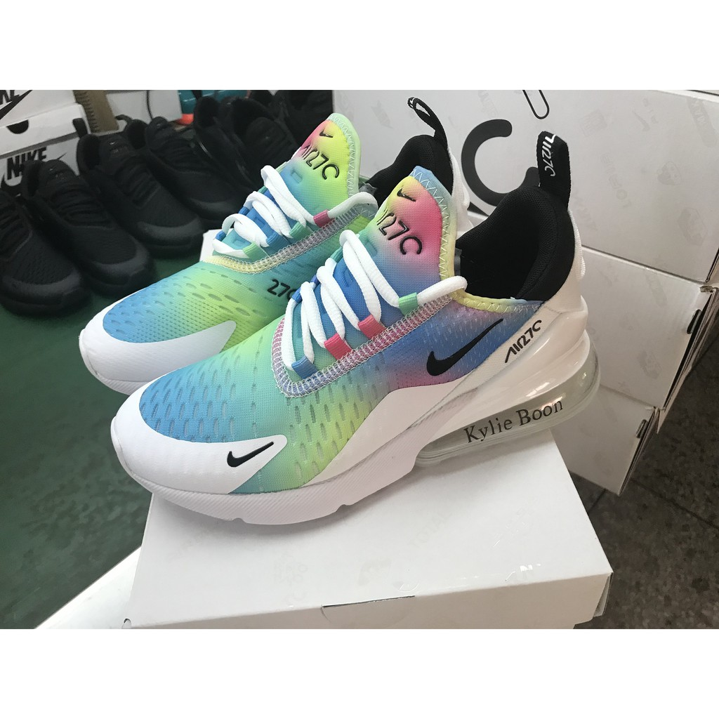 b7c870ef16 Kylie Boon x Nike Air Max 270 Women's Shoes Airmax 27C Sport Sneakers Size  36-40 | Shopee Malaysia