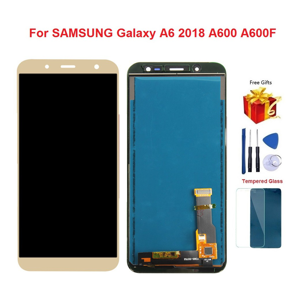e2612c1fff2fde ProductImage. ProductImage. For SAMSUNG Galaxy A6 2018 A600 A600F LCD  Display Touch Screen Digitizer
