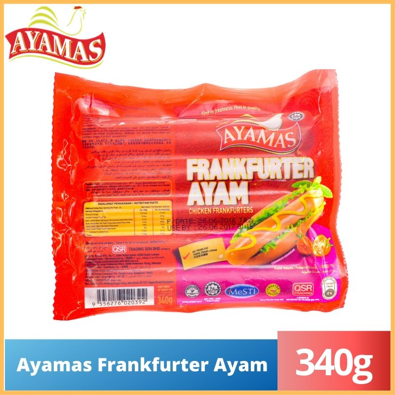 Ayamas Chicken Frankfurter (340g)
