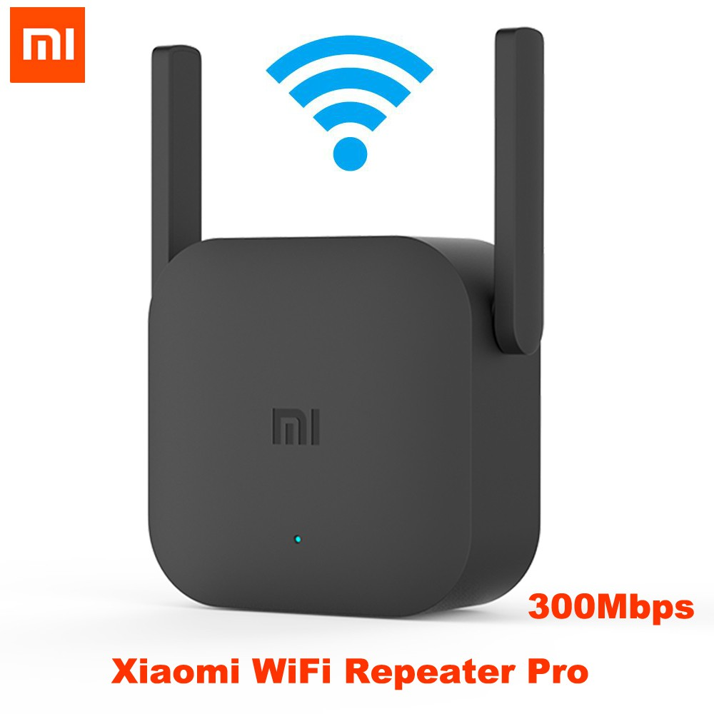 Xiaomi Mijia WiFi Repeater Pro 300M Mi Amplifier Network Expander Router  Power Extender Roteador 2 Antenna for Router