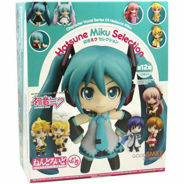 *Nendoroid Petite Vocaloid Series 01 BOX