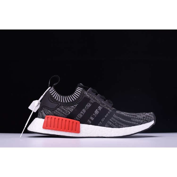 best cheap 30a21 8ee2d Adidas NMD R1 Primeknit Friends and Family Grey/Red/White-Blue N00001