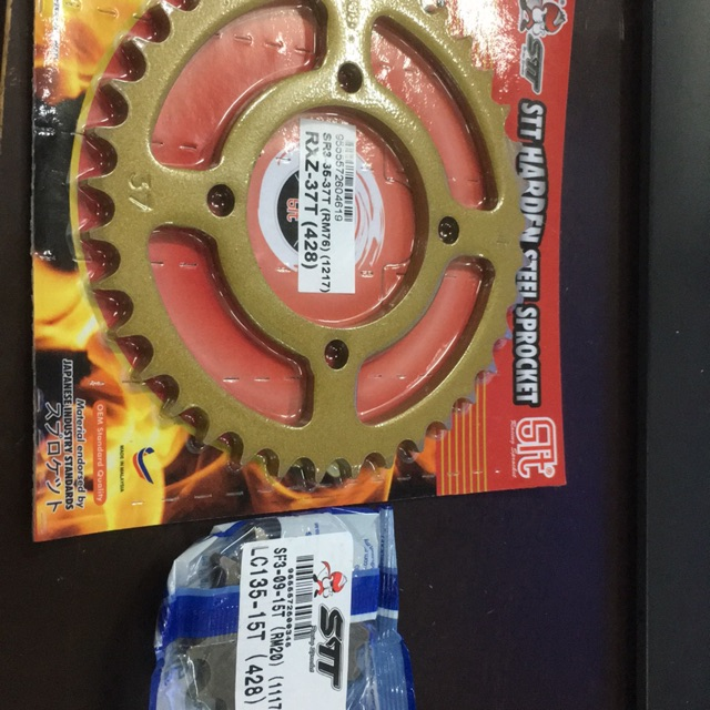 LC135 STT HARDEN STEEL SPROCKET SET