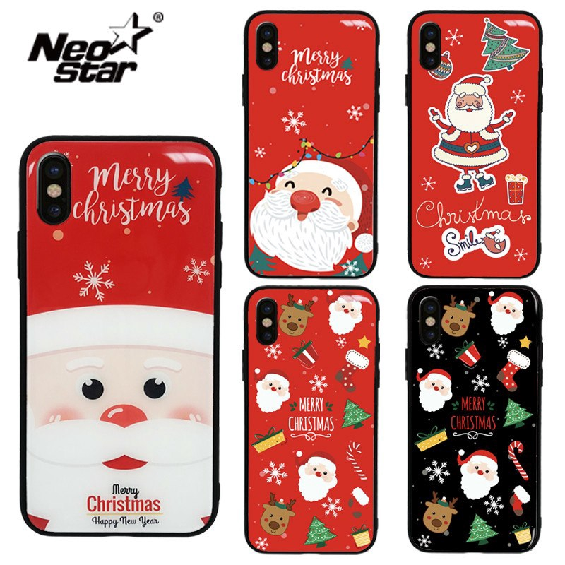 Christmas Phone Case Iphone Xr.Merry Christmas Phone Case For Iphone Xr X Xs Xs Max 6 7 8 Plus 6s 7 8