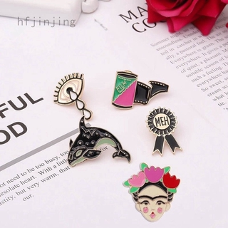 558f34e7e6e Women Dolphin Eye Film Badge Hard Enamel Cartoon Lapel Pins Jewelry Brooches  | Shopee Malaysia