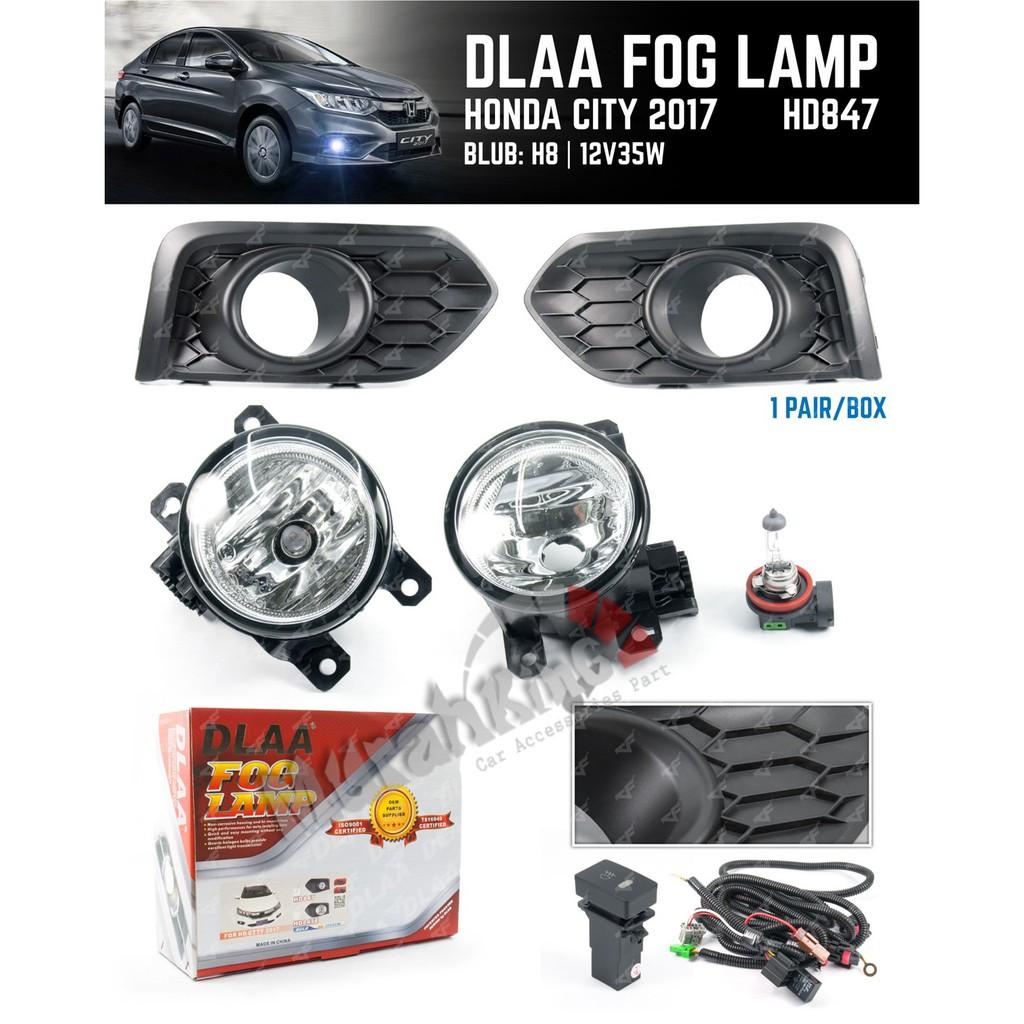 Fog Lamp Honda City 2012 Shopee Malaysia Grand Livina Complete