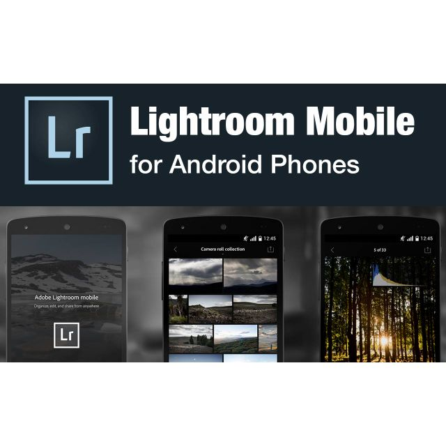 Adobe Lightroom Mobile Premium with 200+ Preset (ANDROID)