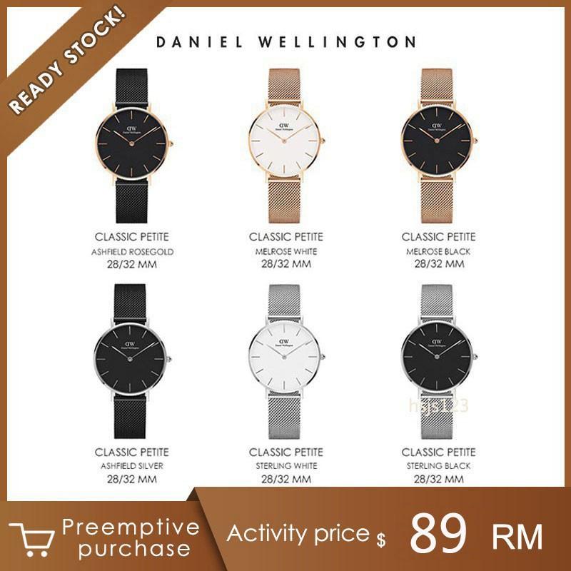 Original Daniel Wellington Classic Petite Casual Watch 28MM to 36MM  Stainless Steel Watch